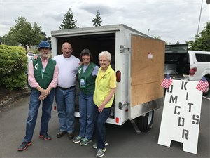 Oregon man finds post-retirement passion on the road for UMCOR