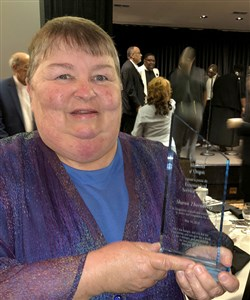 The Dalles UMC woman honored for hunger advocacy