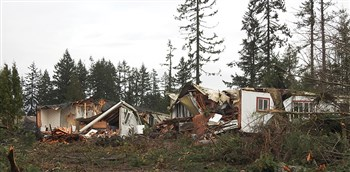 Port Orchard Tornado Damage