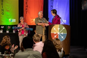 Medicine Crow, Newman UMC highlighted at awards banquet