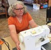 Sewing machines hummed at Kit Kamp